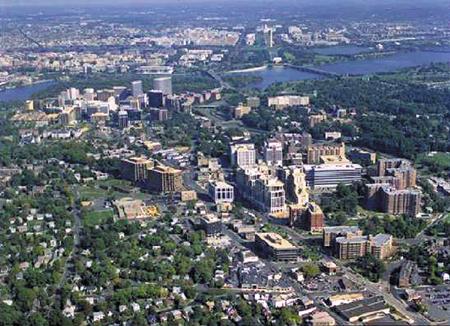 Arlington Aerial View