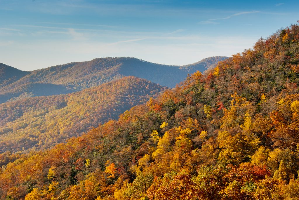 fall blue ridge
